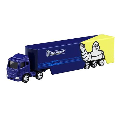 《TOMICA火柴盒小汽車》#135 米其林貨櫃車  /   JOYBUS玩具百貨