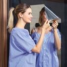 鏡面貼紙牆貼玻璃軟鏡子牆紙自黏宿舍家用全身衛生間反光玻璃鏡貼 樂活生活館