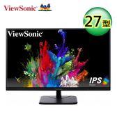 【ViewSonic 優派】VA2756-mh 27型 IPS 面板 FHD螢幕【全品牌送外出野餐杯】