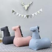兒童沙發可愛小馬卡通嬰兒沙發寶寶公主懶人沙發幼兒園游戲小沙發