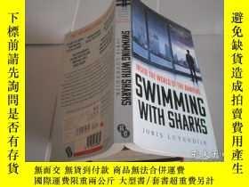 二手書博民逛書店SWIMMING罕見WITH SHARKSY205889 JOR