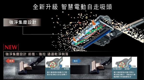 (送原廠全配件)日立PVSJX900T直立/手持兩用無線吸塵器PVSJX900TN香檳金