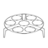 304不銹鋼雞蛋架廚房蒸架電飯鍋蒸籠高壓鍋支架高腳    芊惠衣屋