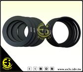 ES  館 級方形濾鏡鏡頭轉接環49mm 52mm 55mm 58mm 62mm 67mm