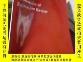 二手書博民逛書店Economics罕見of Education Review V