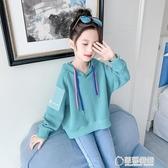 女童秋裝連帽T恤2019新款韓版潮兒童裝小女孩超洋氣時髦網紅寬鬆上衣 草莓妞妞