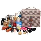 化妝包 化妝包大容量新款可愛便攜化妝箱大小號學生化妝品收納盒