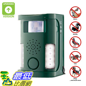 [106美國直購] 驅蟲器區驅寵物器 Hoont Powerful Electronic Outdoor/Indoor Animal, Rodent and Pest Repeller