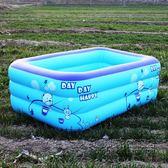 游泳池幼兒童洗澡充氣式寶寶小孩加厚保溫浴缸家用浴盆