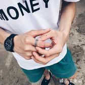 潮人戒指男士個性復古麻繩指環霸氣學生禮物戒子開口 XW1307【潘小丫女鞋】