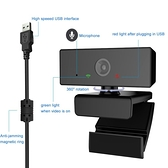 視訊攝影機USB1080P電腦攝像頭電腦辦公直播會議攝像頭高清免驅電腦 【快速出貨】