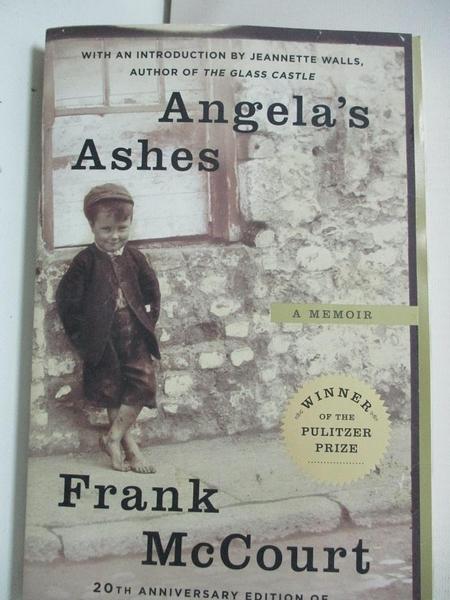 【書寶二手書T1/原文小說_BU6】Angela's Ashes: A Memoir_McCourt, Frank