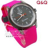 Q&Q SmileSolar 太陽能手錶 春夏玩色系列-010 豪桃艷 男錶 女錶 中性錶 RP10J010Y