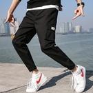 J超火的褲子男士潮牌個性潮流寬鬆文藝休閒褲男式工裝褲9023