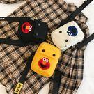 米蘭 芝麻街包包女2019新款手機包斜背包/側背包夏天迷你小包包豎零錢包手機袋
