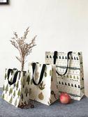 帆布購物收納手提袋便攜書袋學生補習袋防水棉麻環保手提袋