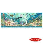 美國瑪莉莎 Melissa & Doug 大型地板拼圖 - 找找看海底動物 48 片