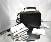 ■現貨在台 ■ 專櫃61折■ Marc Jacobs M0014840 小牛皮粒面The Box 20 包 黑色