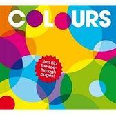 【Patrick George透明膠片書 】COLOURS《主題: 基礎學習/顏色》