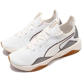 Puma 訓練鞋 Defy Luxe Wns 米白 白 復古厚底 襪套式 運動鞋 女鞋【ACS】 19115302