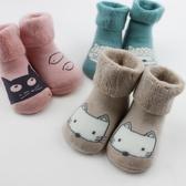 寶寶兒童襪子秋冬棉加厚保暖0-3-6-12個月1-3歲冬天鬆口不勒腳【快速出貨】