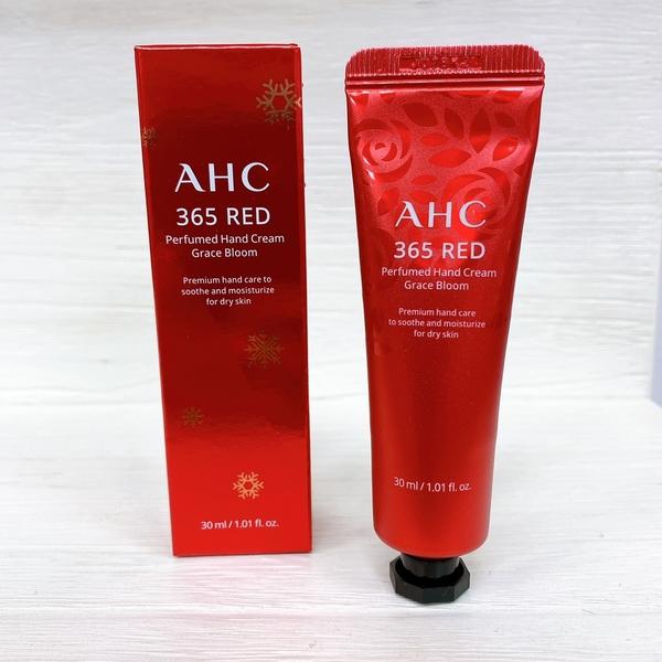 韓國 AHC 365 RED 紅韻煥顏 保濕護手霜 30ML