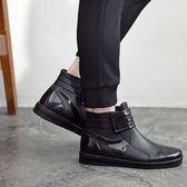 雨鞋男士水鞋雨靴男款防水鞋中筒水靴防水防滑耐磨雨鞋釣魚鞋冬
