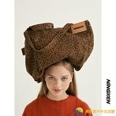 托特包豹紋購物袋款復古大容量單肩包【勇敢者】