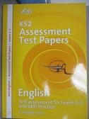 【書寶二手書T8/語言學習_EOG】KS3 National Test Practice Papers-English