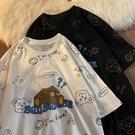 T恤 純棉新款小熊短袖T恤女學生圓領半袖百搭ins潮韓版寬鬆上衣 【618特惠】