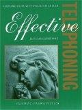 二手書博民逛書店 《Effective Telephoning》 R2Y ISBN:0194570932│Comfort