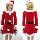 聖誕紅色聖誕甜心女孩跨年聖誕裙耶誕服角色扮演cosplay交換禮物女衣