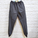 棒棒糖童裝(E8560灰)秋冬男大童鬆緊腰側邊英文圖案棉質長褲 32-40