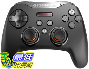 [8美國直購] 遊戲控制器 SteelSeries Stratus Bluetooth Mobile Gaming Controller Android VR - 40