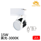 HONEY COMB LED 15W 防眩軌道式燈具 2入一組TK6203-3 黃光