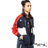 【秋季特推】日式職人印半纏x吸濕排汗蠟感印花運動外套 - BLUE WAY  地藏小王