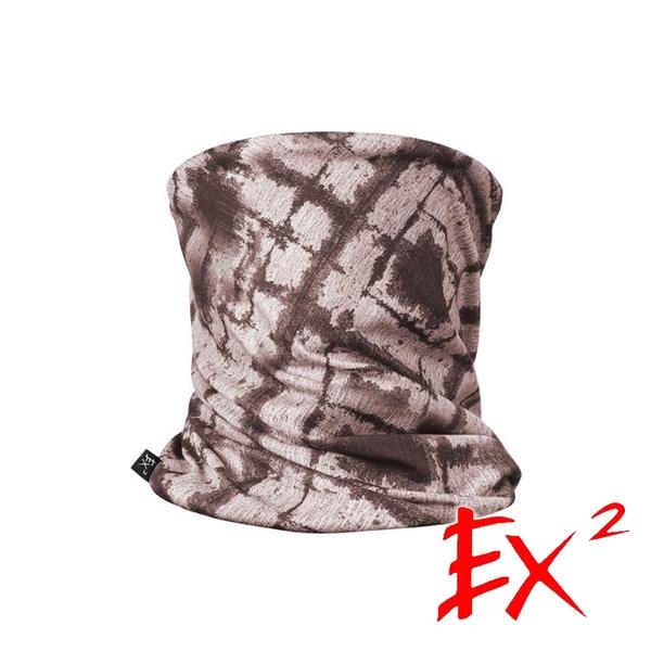 【EX2德國】多功能圍脖『沙漠黃』668046 登山.戶外.露營.快乾.排汗.吸濕.保暖.禦寒.冬季