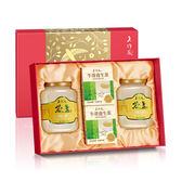 【老行家】雙龍禮盒(500g特滑即食燕盞*2+牛蒡茶*2)