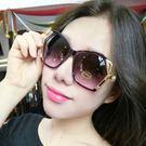 新款女士太陽鏡女潮明星大框時尚墨鏡多邊形酷 美芭