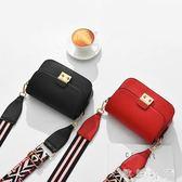 女士小包包寬帶小方包新款時尚女包韓版迷你百搭單肩斜挎包潮   歐韓時代