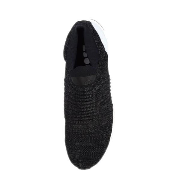 Adidas UltraBOOST Laceless [BB6140] 男鞋 運動 慢跑 舒適 黑 白 愛迪達