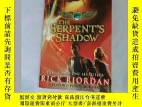 二手書博民逛書店The罕見serpent s shadow,The Kane C