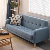 沙發北歐小戶型沙發布藝現代簡約網紅款出租房臥室客廳單人雙人三人位 衣間迷你屋
