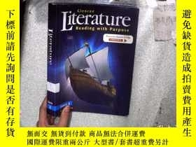 二手書博民逛書店LITERATURE罕見READING WITH PURPOSE