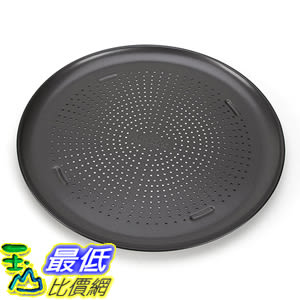 [美國直購] T-fal 84823 不沾披薩烤盤 AirBake Nonstick Pizza Pan, 15.75 in 耐熱425℉