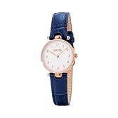 【Folli Follie】Lady Club簡約核心精緻時尚腕錶-鳶尾藍/WF17R014SSS_DB/台灣總代理公司貨享兩年保固