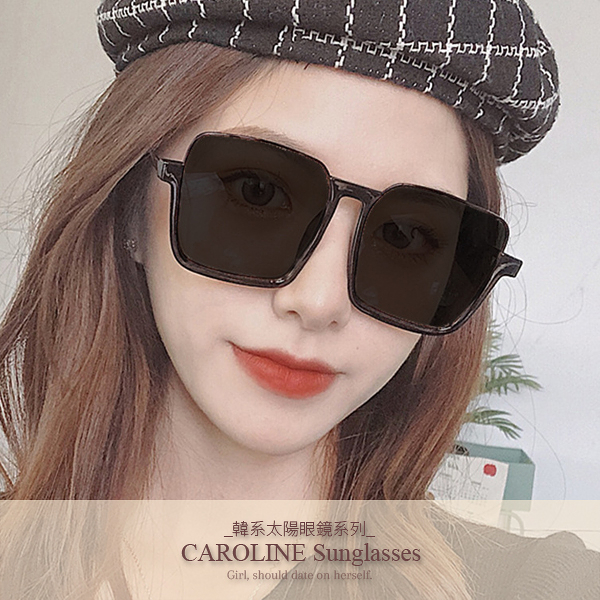 《Caroline》年度最新網紅款潮流百搭抗UV時尚太陽眼鏡 72196