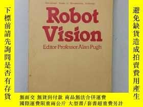 二手書博民逛書店舊書罕見英文版 robot vision 機器人的視覺 小16開 1983年印 n1-3Y270952 英文版
