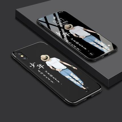 iPhone xs max手機殼蘋果xs保護套iPhone xs矽膠全包防摔蘋果x個性創意新款XS MAX男女款磨砂卡通