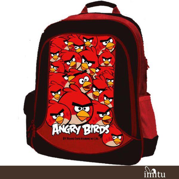 imitu【憤怒鳥 Angry Birds】安全反光護脊後背包(A3_AB4633)